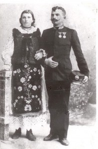 Man with wife